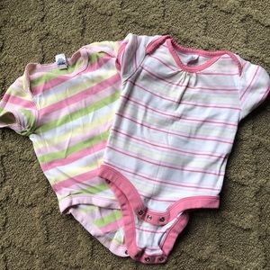 Pair of baby gap onesies